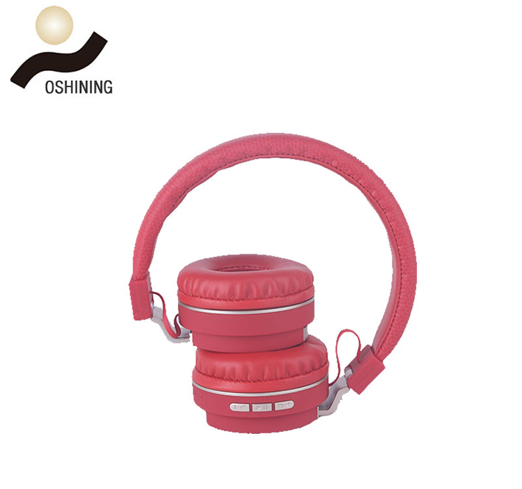 Excellent Sound Quality Folding Type Stereo Bt Wireless Headset With Mp3 Player