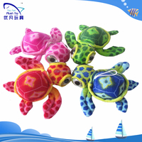 Promotional Top Quality colorful big eyes pendant small animal plush toy