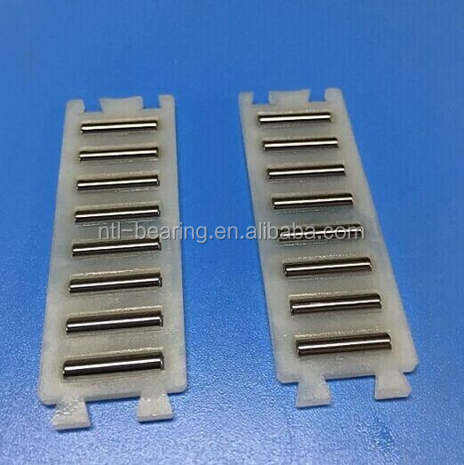 nylon cage flat needle bearing for Printing Machine FF2010