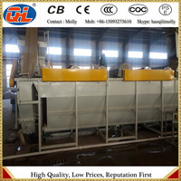 PET bottle recycling line floating separator washer