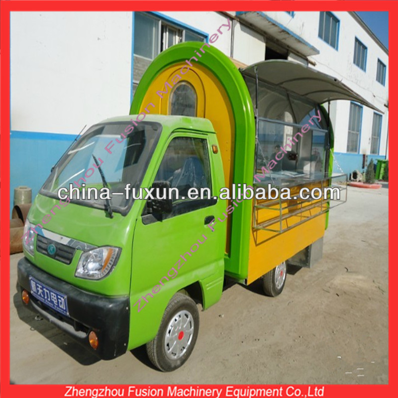 Electric mobile food car for sale/vending food truck