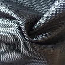 Black 1680D oxford 100% polyester fabric with PVC back coating