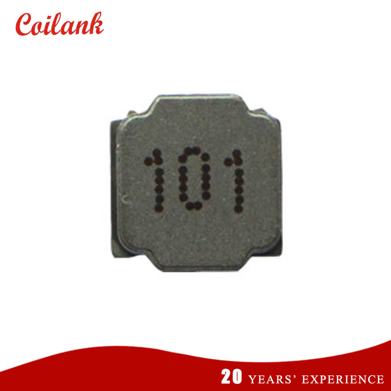 Shenzhen factory wholesale wirewound SMD power inductor 100uH choke core 8040 1.3A