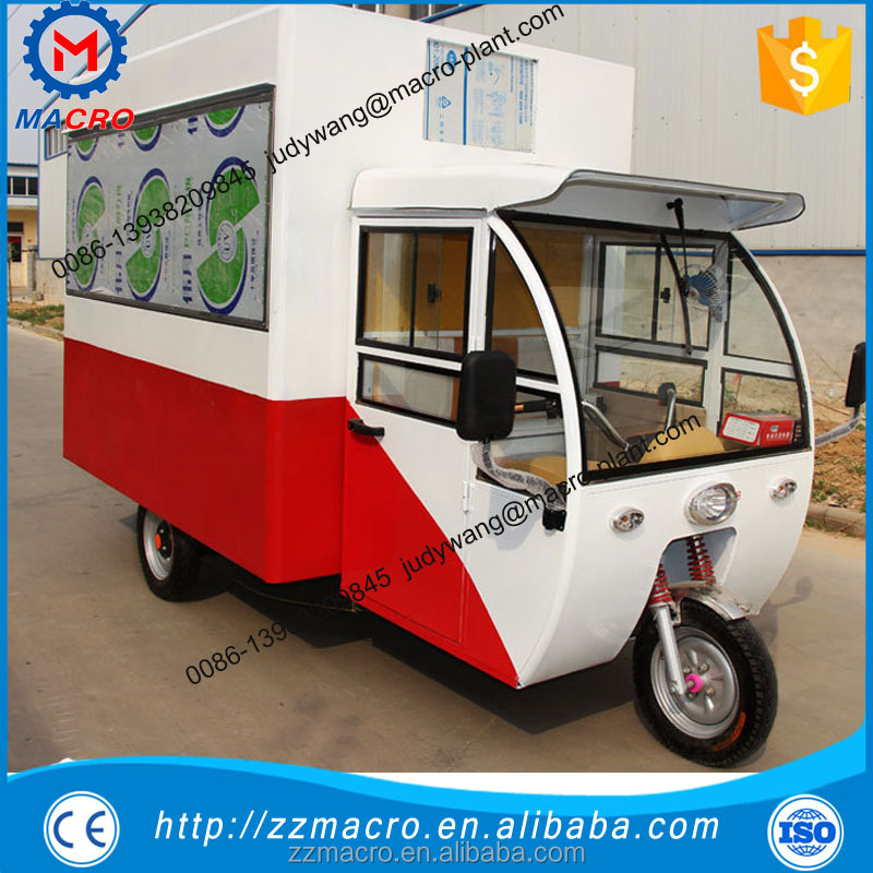 bicycle food cart mobile coffee car for juice used gelato cart mobile food trucks cart
