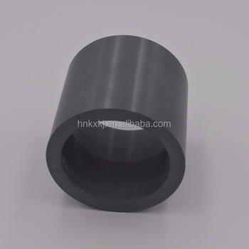 high hardness silicon nitride 99% ceramic straight cylindrical crucible with both side opening