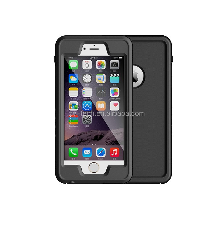 With Belt Zipper Mobile Phone Cases Waterproof Bag Sport Gym Waist Pouch For iPhone 6 Case & For iPhone 6S Plus