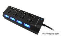 High Speed 4 por And 7 Por USB 2.0 Hub With ON/OFF Switches
