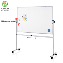 Office Custom Mobile Whiteboard Height Adjustable Mobile Stand With Whiteboard