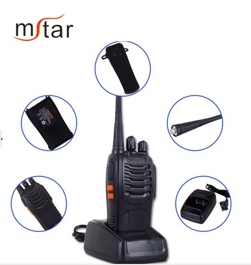BF 888s walkie talkie  Handheld Type Two Way Radio Baofeng 888S uhf 400-470mhz Underwater walkie talkie