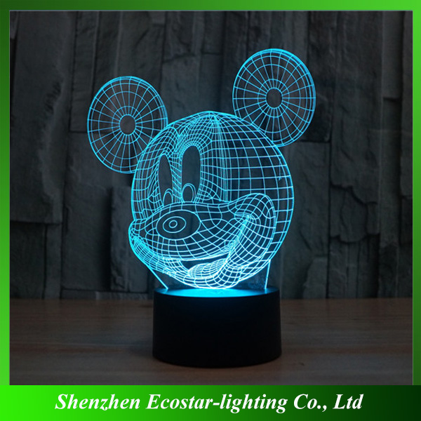 OEM Project 3D Lamp,3D LED Lamp,3D LED Night Lamp Manufacturer