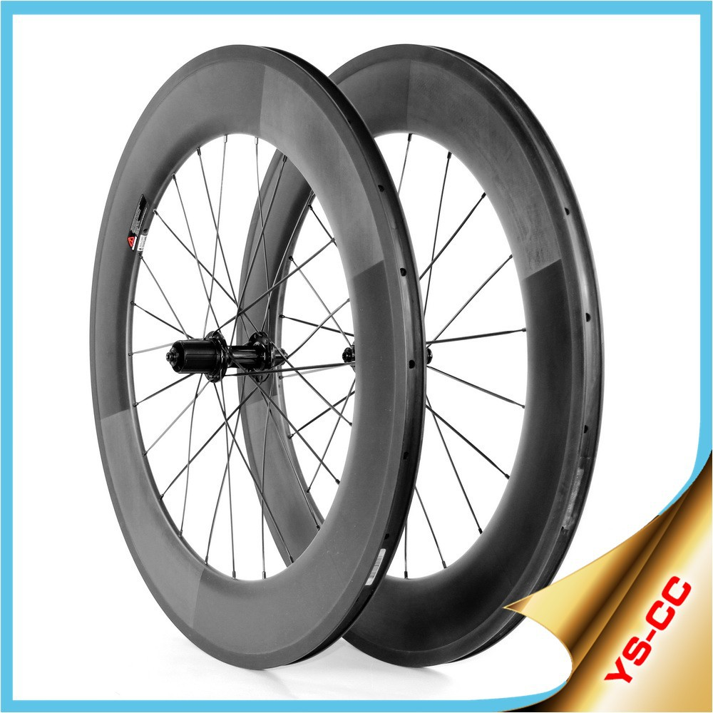 Hot-selling!! 700C cycling wheels 88mm chinese road wheels clincher carbon road wheels china 2015CC-88C-W