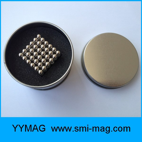 Factory supply wholesale Neo cube 3mm 5mm puzzle cube magnetic sphere