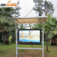 Wall Mounted Large Touch Screen LCD Monitor for Advertising Display