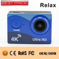 "Ultra HD go pro camera 170 degrees sport camera comparison 2"" LCD 4k ultra hd 2 inch screen private mold action camera 4k"