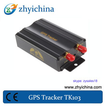 High quality professional mini tk-103 car gps tracker with remote control function