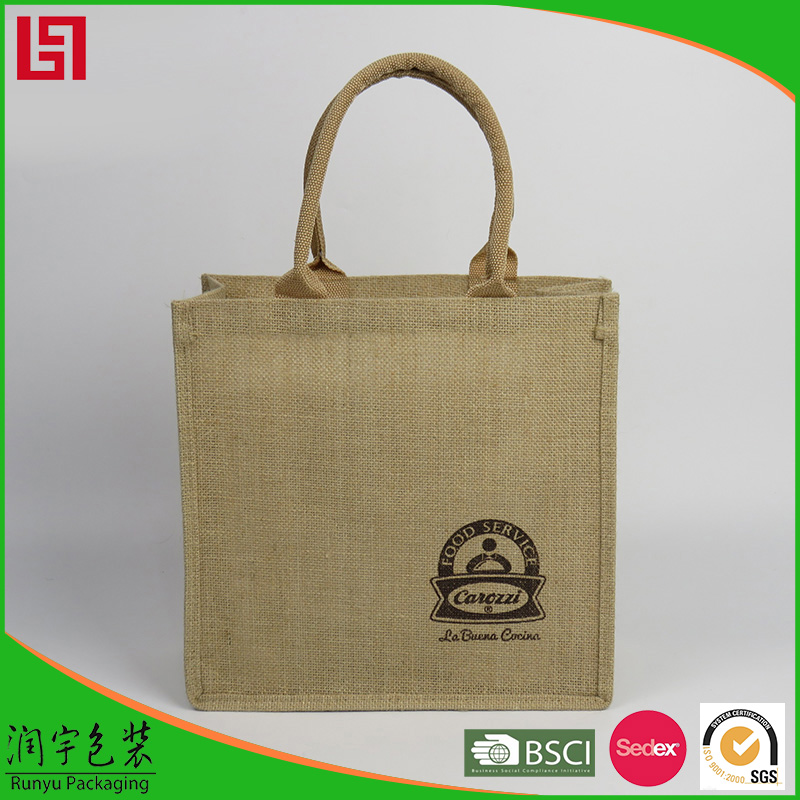 cheap price waterproof small jute bag manufacturers