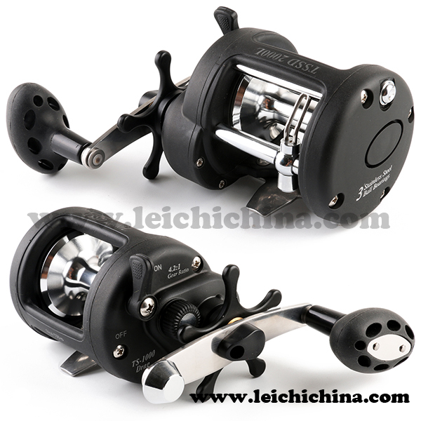 Low price corrosion proof stainless steel construction big for Big game fishing reels