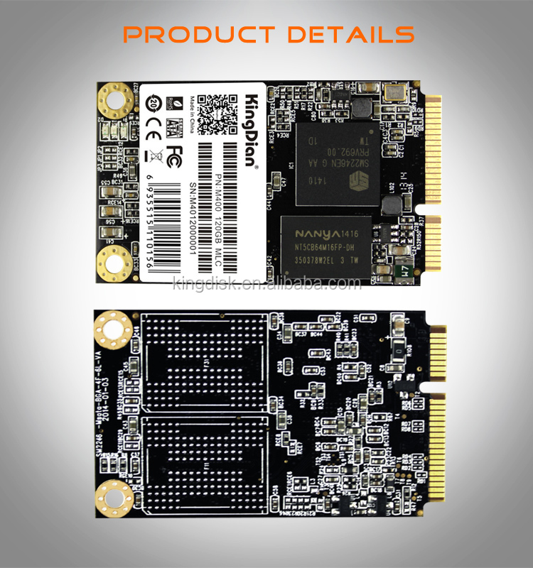 mSATA mini PCIE 120g SSD solid state drive fast shipping