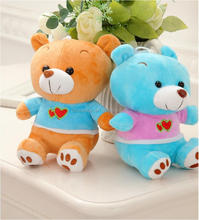 Factory price 18cm Teddy Bear Plush Toys Soft Plush Stuffy Dolls New Christmas gift