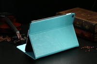 Wholesale New 2015 Smart Cover For iPad air 2 PU Leather Sleep Wake Stand Cover Case For iPad air 2 Case