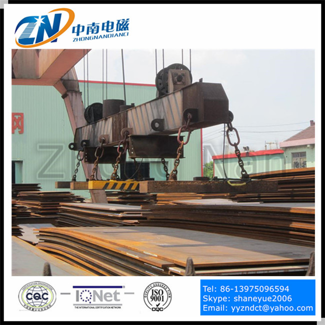 steel plate lifting electro magnet equipment MW84-17535T(L)/1