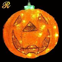 Outdoor acrylic LED halloween pumpkin lights