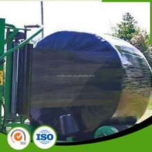 Black/White/Green LLDPE Silage Film Black Shrink Wrap