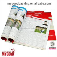 Hot selling design printing softcover books in hangzhou