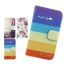 for HTC desire 820 flip pu cover case,colorful wallet flip phone cover for HTC desire 820