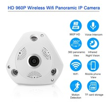 360 Degree VR Panorama Camera CCTV HD 960P Wireless WIFI IP Camera Home Security Video Surveillance System Camera Webcam
