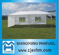3X6 White Outdoor Wedding Party Tent Patio Gazebo Canopy Events with 6 legs