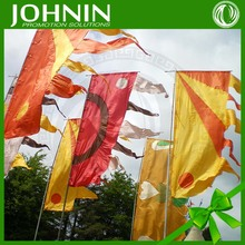 No MOQ Custom Size Design Colorful Outdoor Party Event Festival Flag