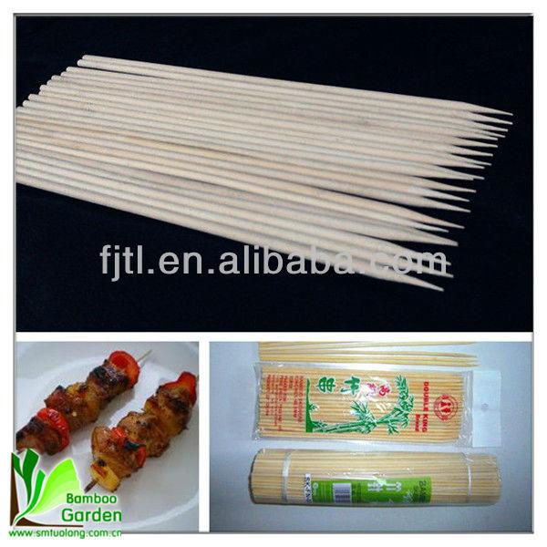 Wholesales Round Bamboo Kabob Sticks
