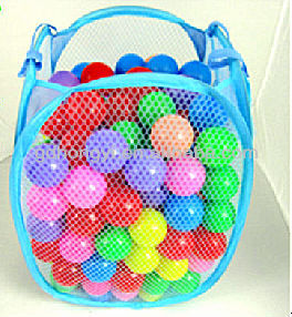 inflated hollow plastic balls