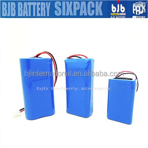 Customized 3.7v 1200mAh li ion battery ,16850 Lithium-ion batteries,for LED light