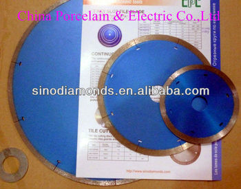 diamond tools/diamond saw blade for ceramic/porcelain cutting