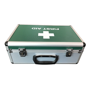 Standard Aluminum First Aid Emergency Case Medical Storage Tool Box