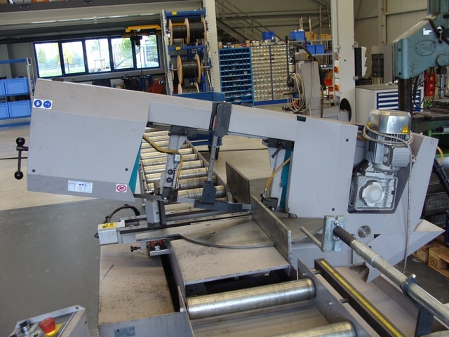 german BERG & SCHMID double mitre band saw