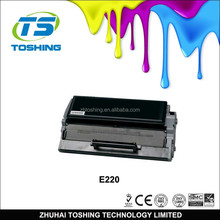 China premium 12S0400 compatible toner cartridge for Lex mark E220 toner