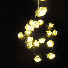 Artificial Flowers With Led Lights Rose for Decoration