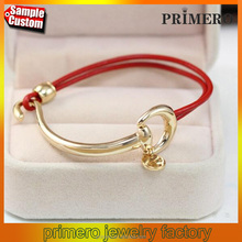 New Fashion Chinese Sexy Red String Bracelet Gold Jewelry For Ladies