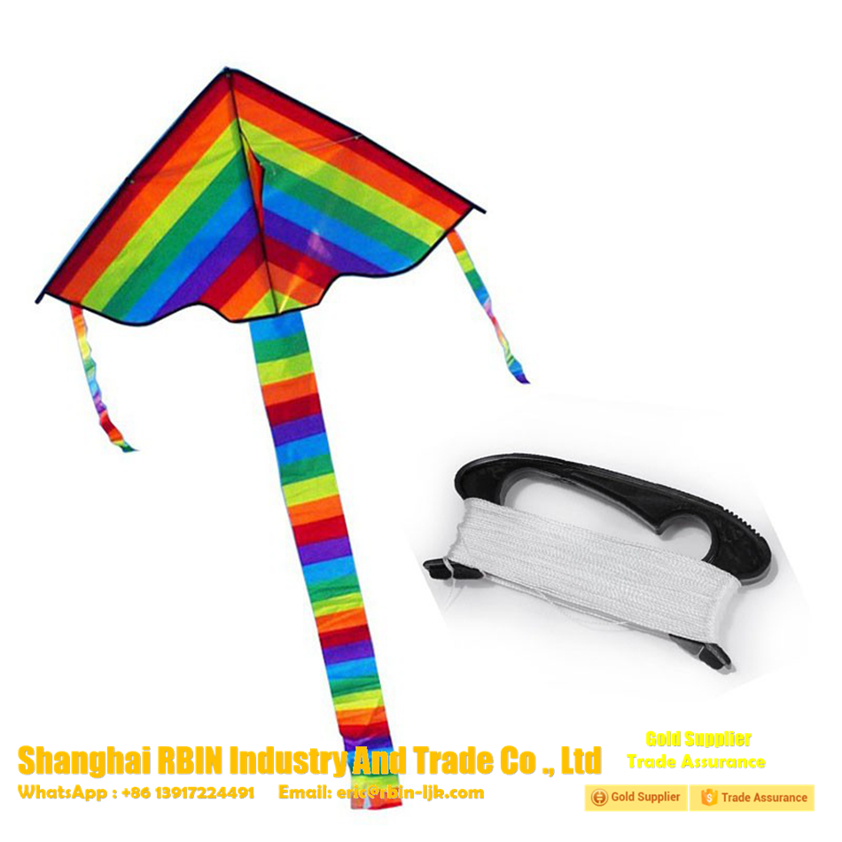 Surfing cabrinha bird scare flying kite rainbow kite