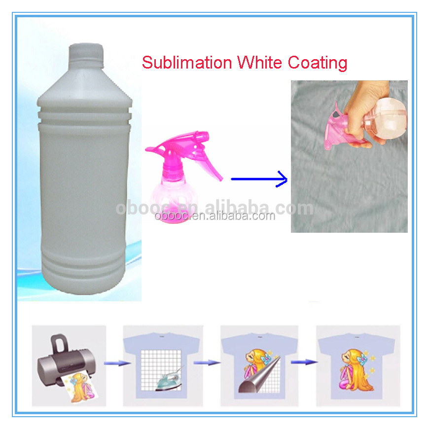 Business for Sale Sublimation Coating Spray for Cotton