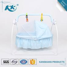 Gold supplier high quality wholesale custom made swinging portable baby cot dimensions