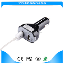 FCP 2 port car charger 5V/2A USB car charger with Intelligent Recognition