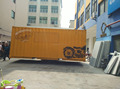 Factory price second-hand container food trailer/cart can accept customized