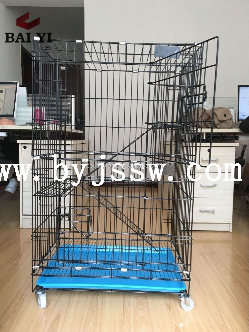 Cheap Large Cat Carrier And Folding Metal Cat House