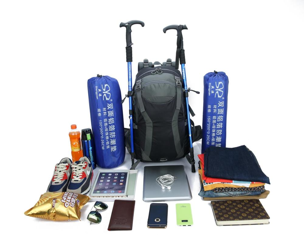2019 Newest waterproof 50L Outdoor Sports Backpack For hiking camping climbing trekking travelling