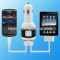 promotional cheap dual usb car charger for iPhone