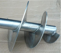 Auger flight for construction & agriculture machinery